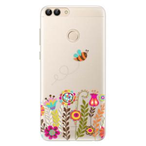 Silikonové pouzdro iSaprio (mléčně zakalené) Včelka Pája 01 na mobil Huawei P Smart
