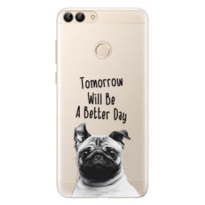 Silikonové pouzdro iSaprio (mléčně zakalené) Better Day 01 na mobil Huawei P Smart