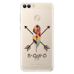 Silikonové pouzdro iSaprio (mléčně zakalené) BOHO na mobil Huawei P Smart