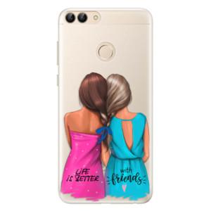 Silikonové pouzdro iSaprio (mléčně zakalené) Best Friends na mobil Huawei P Smart