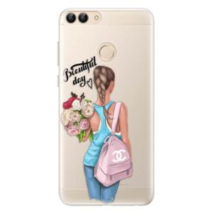 Silikonové pouzdro iSaprio (mléčně zakalené) Beautiful Day na mobil Huawei P Smart