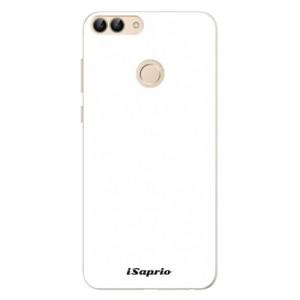 Silikonové pouzdro iSaprio 4Pure bílé na mobil Huawei P Smart