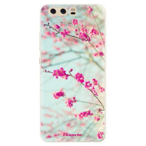 Silikonové pouzdro iSaprio (mléčně zakalené) Blossom 01 na mobil Huawei P10