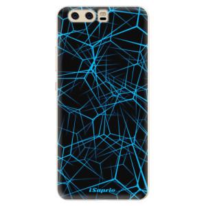 Silikonové pouzdro iSaprio (mléčně zakalené) Abstract Outlines 12 na mobil Huawei P10