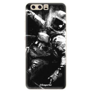 Silikonové pouzdro iSaprio (mléčně zakalené) Astronaut 02 na mobil Huawei P10