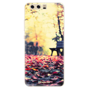Silikonové pouzdro iSaprio (mléčně zakalené) Bench 01 na mobil Huawei P10