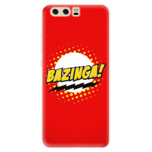 Silikonové pouzdro iSaprio (mléčně zakalené) Bazinga 01 na mobil Huawei P10 - poslední kousek za tuto cenu