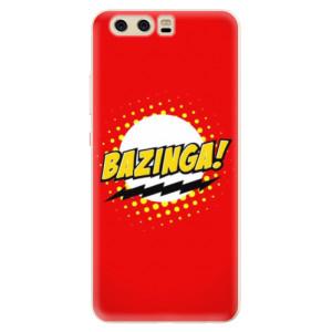 Silikonové pouzdro iSaprio (mléčně zakalené) Bazinga 01 na mobil Huawei P10