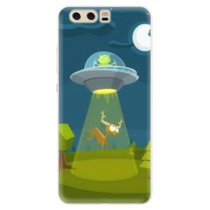 Silikonové pouzdro iSaprio (mléčně zakalené) Ufouni 01 na mobil Huawei P10
