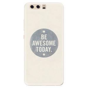 Silikonové pouzdro iSaprio (mléčně zakalené) Awesome 02 na mobil Huawei P10