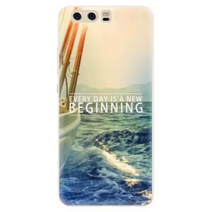 Silikonové pouzdro iSaprio (mléčně zakalené) Beginning na mobil Huawei P10