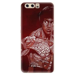 Silikonové pouzdro iSaprio (mléčně zakalené) Bruce Lee na mobil Huawei P10