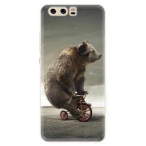 Silikonové pouzdro iSaprio (mléčně zakalené) Medvěd 01 na mobil Huawei P10