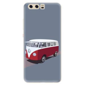 Silikonové pouzdro iSaprio (mléčně zakalené) VW Bus na mobil Huawei P10
