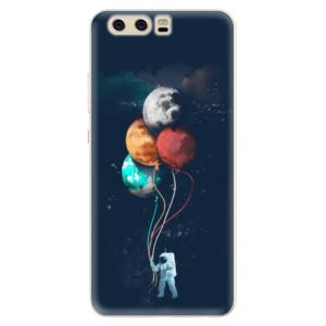 Silikonové pouzdro iSaprio (mléčně zakalené) Balónky 02 na mobil Huawei P10