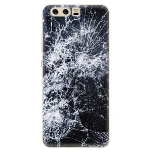 Silikonové pouzdro iSaprio (mléčně zakalené) Praskliny na mobil Huawei P10