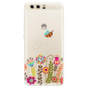 Silikonové pouzdro iSaprio (mléčně zakalené) Včelka Pája 01 na mobil Huawei P10