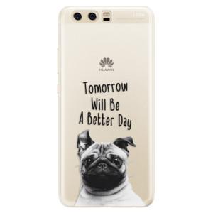Silikonové pouzdro iSaprio (mléčně zakalené) Better Day 01 na mobil Huawei P10