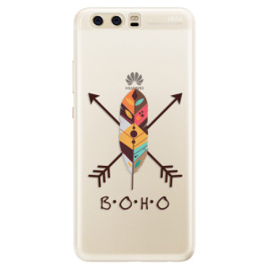 Silikonové pouzdro iSaprio (mléčně zakalené) BOHO na mobil Huawei P10