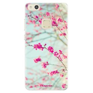 Silikonové pouzdro iSaprio (mléčně zakalené) Blossom 01 na mobil Huawei P10 Lite