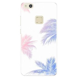 Silikonové pouzdro iSaprio (mléčně zakalené) Palmy 10 na mobil Huawei P10 Lite