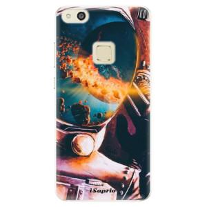 Silikonové pouzdro iSaprio (mléčně zakalené) Astronaut 01 na mobil Huawei P10 Lite