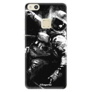 Silikonové pouzdro iSaprio (mléčně zakalené) Astronaut 02 na mobil Huawei P10 Lite