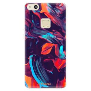 Silikonové pouzdro iSaprio (mléčně zakalené) Barevný mramor 19 na mobil Huawei P10 Lite