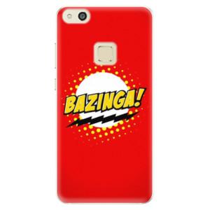Silikonové pouzdro iSaprio (mléčně zakalené) Bazinga 01 na mobil Huawei P10 Lite