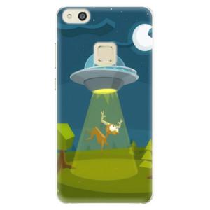 Silikonové pouzdro iSaprio (mléčně zakalené) Ufouni 01 na mobil Huawei P10 Lite