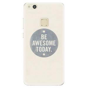 Silikonové pouzdro iSaprio (mléčně zakalené) Awesome 02 na mobil Huawei P10 Lite