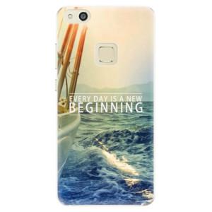 Silikonové pouzdro iSaprio (mléčně zakalené) Beginning na mobil Huawei P10 Lite