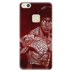 Silikonové pouzdro iSaprio (mléčně zakalené) Bruce Lee na mobil Huawei P10 Lite
