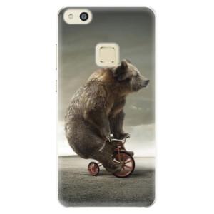 Silikonové pouzdro iSaprio (mléčně zakalené) Medvěd 01 na mobil Huawei P10 Lite