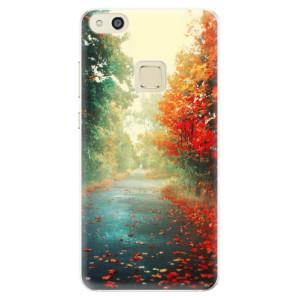 Silikonové pouzdro iSaprio (mléčně zakalené) Podzim 03 na mobil Huawei P10 Lite