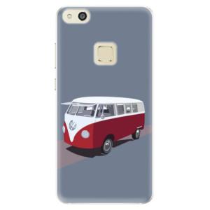 Silikonové pouzdro iSaprio (mléčně zakalené) VW Bus na mobil Huawei P10 Lite