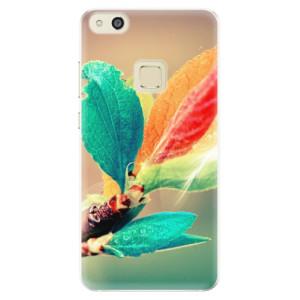 Silikonové pouzdro iSaprio (mléčně zakalené) Podzim 02 na mobil Huawei P10 Lite