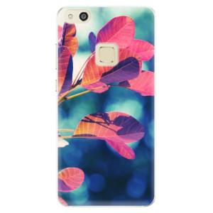 Silikonové pouzdro iSaprio (mléčně zakalené) Podzim 01 na mobil Huawei P10 Lite