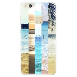 Silikonové pouzdro iSaprio (mléčně zakalené) Aloha 02 na mobil Huawei P10 Lite