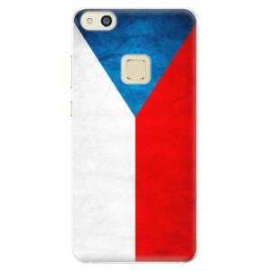 Silikonové pouzdro iSaprio (mléčně zakalené) Česká Vlajka na mobil Huawei P10 Lite