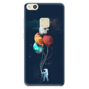 Silikonové pouzdro iSaprio (mléčně zakalené) Balónky 02 na mobil Huawei P10 Lite