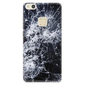 Silikonové pouzdro iSaprio (mléčně zakalené) Praskliny na mobil Huawei P10 Lite