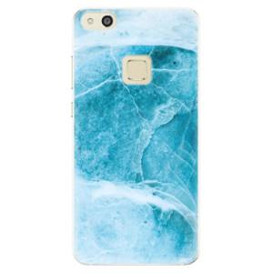 Silikonové pouzdro iSaprio (mléčně zakalené) Blue Marble na mobil Huawei P10 Lite