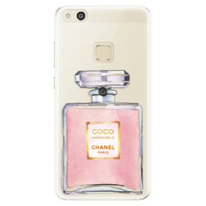 Silikonové pouzdro iSaprio (mléčně zakalené) Chanel Rose na mobil Huawei P10 Lite