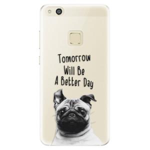 Silikonové pouzdro iSaprio (mléčně zakalené) Better Day 01 na mobil Huawei P10 Lite