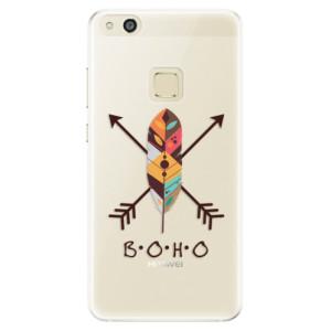 Silikonové pouzdro iSaprio (mléčně zakalené) BOHO na mobil Huawei P10 Lite