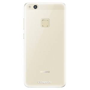 Silikonové pouzdro iSaprio 4Pure mléčné bez potisku na mobil Huawei P10 Lite