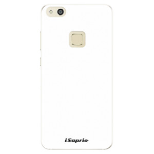 Silikonové pouzdro iSaprio 4Pure bílé na mobil Huawei P10 Lite