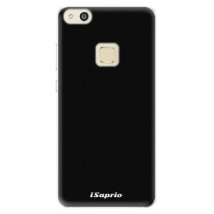 Silikonové pouzdro iSaprio 4Pure černé na mobil Huawei P10 Lite