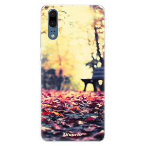 Silikonové pouzdro iSaprio (mléčně zakalené) Bench 01 na mobil Huawei P20